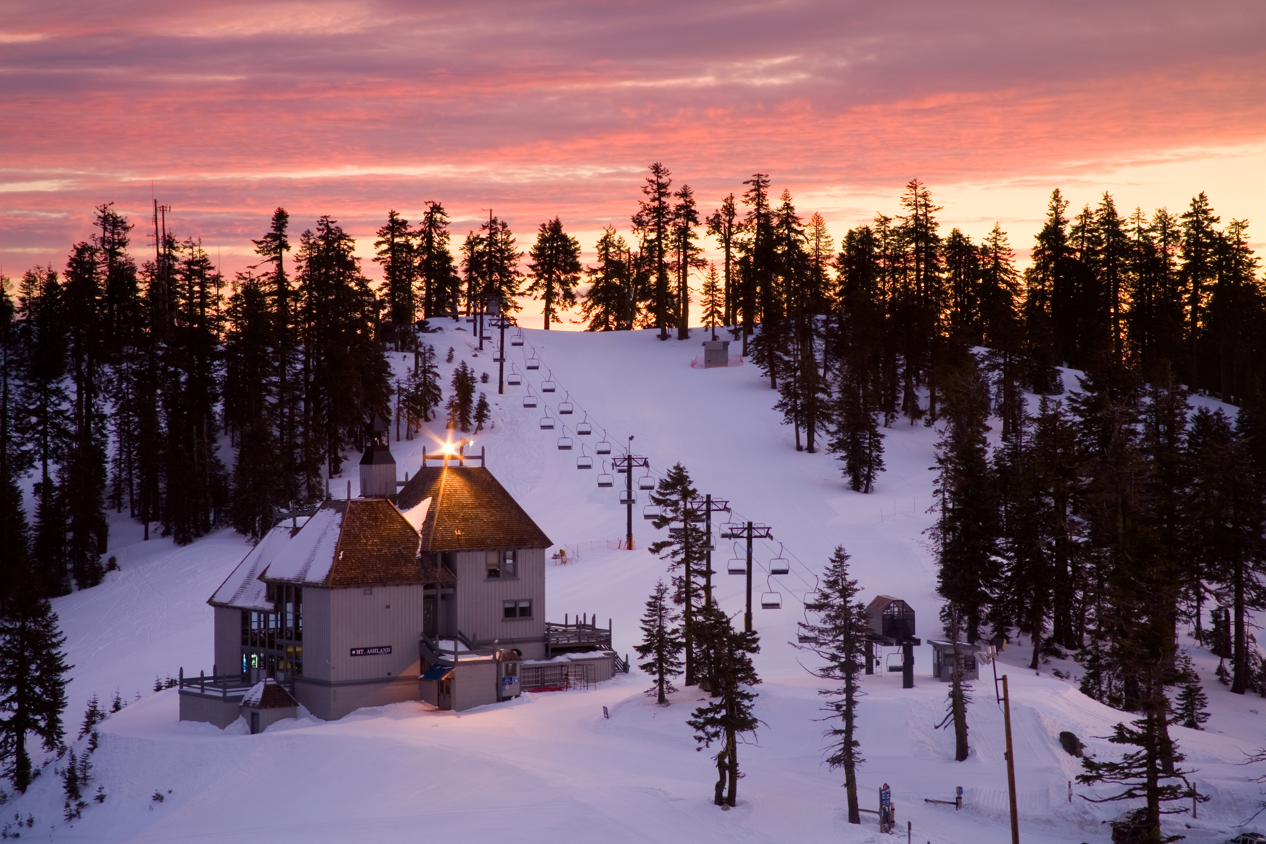 MT Ashland Ski Lodge